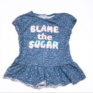 Blame the Sugar Tee Shirt Sz 4T 🌈 5 for $25